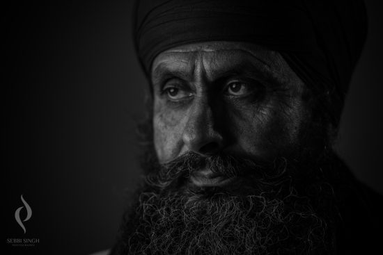 Characterful portrait photography