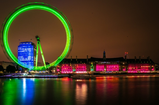 Night Photography Workshop – Westminster and the London Eye