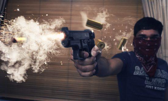 Gun shot photography